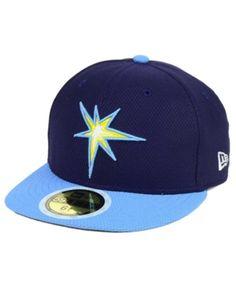 New Era Kids  Tampa Bay Rays Batting Practice Diamond Era 59FIFTY Cap b52a81d47