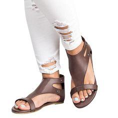 a4f05f0b4561 Chellysun bohemian retro Summer Comfortable strappy gladiator leather cute  sandals brikenstock plateforme jamaica flatform sandals