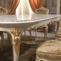 Sala da pranzo Versailles stile Luigi XVI | Vimercati Classic ...