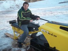 Snowmobiles, Outdoor Fun, Dads, Fathers