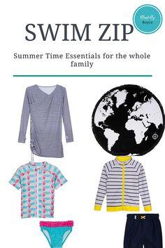 Family Beach Trip and UV Clothing | blissfullyboyce    Swim Zip// Kids Swim// Womens Swim// Cover Ups// Beach Essentials// Travel// Vacation Attire