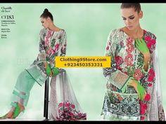 Gul Ahmed Festive Eid Collection 2017 2018 Lawn Silk Net Chiffon Dresses