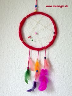 DIY Traumfänger / DIY dream catcher