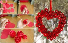 The Perfect DIY 20 + Valentine's Day Wreaths