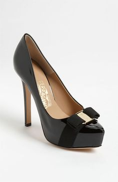 Salvatore Ferragamo 'Trilly' Pump available at #Nordstrom
