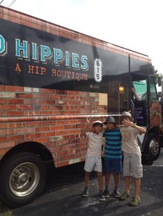 HiPPiE fun! Two Old Hippies Fashion Truck www.twooldhippies.com 615-254-7999