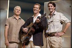 Broadway's Mamma Mia! with John Dossett, David Andrew Macdonald and Patrick Boll