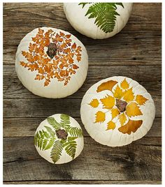 There's some great, creative ways to decorate pumpkins in this article.