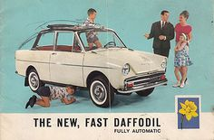 Adrian Henri: New, Fast, Automatic Daffodils