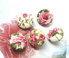 Handmade Fabric Buttons