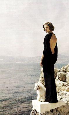 rebelheartscouture: Natalia Vodianova wears Roberto Cavalli, photographed by Mario Testino for Vogue US, July 2007.