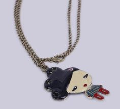 $1.35  70cm Multicolor Sweater Chain Necklace Jewelry Vintage Charms