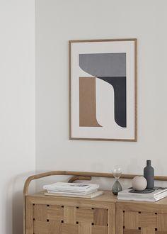 The Poster Club's Best Abstract Prints Scandinavian Art, Aesthetic Rooms, Room Accessories, Living Room Art, Home Decor Wall Art, Room Decor, Interior Inspiration, Illustration, Art Prints