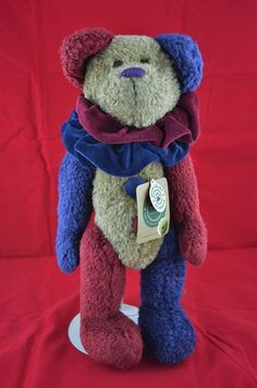 "Brand: The Original Boyd's Bears  Name: Mr. BoJingles                      Collection Series: T.J.'s Best Dressed  14"" Plush                            Item #: 91264  Original Price: $20.00   Issued Date: 2000          Retired Date: 2002"