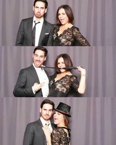 Lana and Colin being goofballs Abc Shows, Best Tv Shows, Best Shows Ever, Movies And Tv Shows, Once Upon A Time Funny, Once Up A Time, Captain Swan, Captain Hook, Ouat Family Tree