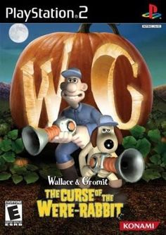Wallace & Gromit: The Curse of the Were-Rabbit is a video game developed by Frontier Developments and it is the first and only game in the series to be published by Konami. It was released for the PlayStation 2 and Xbox consoles, and for the Mobile p