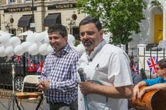 Jubilee Street Party in Brixton, organised by British Future and the Refugee Council