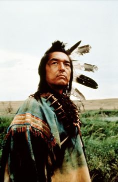 Graham Greene; starred in Dancing with Wolves and many other movies/tv shows.  Love when he shows his humorous side.