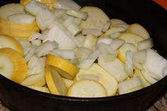 Healthy Sauteed' Squash and Onions is a quick and easy side dish that only takes a few ingredients and just a few short minutes! Squash And Onions Recipe, Onion Recipes, Soup Recipes, Sauteed Squash, Side Dishes Easy, Healthy Options, Vegetable Recipes, Front Porch, Family Meals