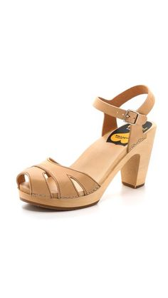 Swedish Hasbeens Suzanne Sandals. Get coupons for ShopBop here: http://bit.ly/1lmGJnn (Thanks to @Chippmunk - Let's Shop!.)