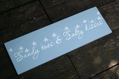 Sandy Toes and Salty Kisses Starfish Beach by RaindropsOnRosesB, $24.00