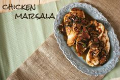 Chicken Marsala is so easy: Chicken Marsala is a traditional Italian dish that starts with boneless chicken breasts that are coated, usually with flour. The sauce is made of butter, olive oil, mushrooms, Marsala wine, and sherry. Salt, pepper and oregano season the dish. Some chicken Marsala recipes also include capers and lemon juice.