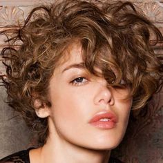Blonde Bobs, Braided Hairstyles, Curly Hair Styles, Color, Pixie Cuts, Women, Fashion, Curly Hair, Haircuts