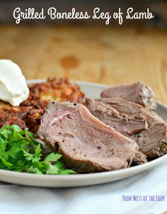 Looking for a big piece of meat to feature at your holiday dinner? Marinated, grilled boneless leg of lamb makes an impressive yet easy centerpiece for your celebration.