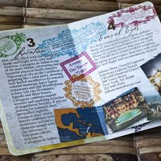 Remarkable detail in Passport invitations | By Sproullie Designs on Etsy