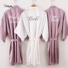 Sister Of The Groom, Bride Sister, Mother Of The Bride, Bridesmaid Robes, Wedding Bridesmaids, Bridesmaid Ideas, Team Bride, Mauve, Getting Married