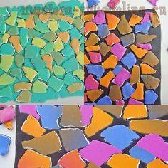 Мастер-класс по лепке из полимерной глины: Мозаика