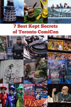 So many reasons why Toronto ComiCon is a fun way to spend a weekend, but here are 7 of the coolest things that you might have overlooked or missed out on. Kids Go Free, Build Your Own Lightsaber, Make A Wish Foundation, Anime Conventions, Dream Trips, Anime Furry, Best Kept Secret, Sick Kids, Need A Vacation