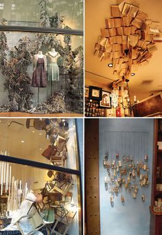 anthropologie displays