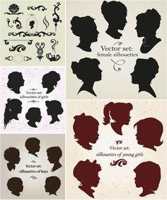 http://vectorgraphicsblog.com/wp-content/uploads/2012/05/portrait-silhouettes-vector.jpg