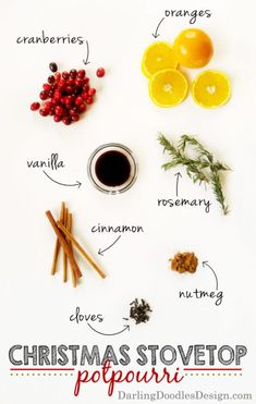 Christmas Stovetop Potpourri and Gift Tag - Darling Doodles Homemade Potpourri, Potpourri Recipes, Homemade Gifts, Stove Top Potpourri, Homemade Air Freshener, Christmas Entertaining, Home Scents, All Things Christmas, Christmas Smells