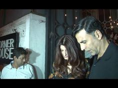 Akshay Kumar with wife Twinkle Khanna celebrates Valentine's Day 2017 at The Korner House. Twinkle Khanna, Twinkle Twinkle, Akshay Kumar, Bollywood News, Interview, Valentines, Celebrities, Day, Music