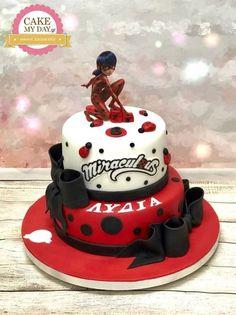 Bug Birthday Cakes, Rapunzel Birthday Party, Birthday Cakes For Women, Birthday Cake Girls, Ladybug Cakes, Rosalie, Superhero Cake, Novelty Cakes, Girl Cakes