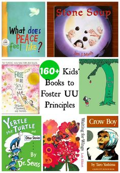 There are so many wonderful children's books out there that relate to and support Unitarian Universalism or our principles. The list could be endless, but click here for a great place to start.
