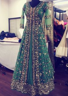 indian fashion Lengha -- CLICK VISIT link above for more details Indian Gowns Dresses, Pakistani Wedding Dresses, Pakistani Outfits, Bridal Anarkali Suits, Indian Wedding Lehenga, Flapper Dresses, Indian Party Wear, Indian Wear, Party Wear Dresses