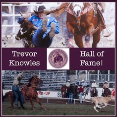 Trevor Knowles, our Purple Cowboy Wines endorsee on the Pro Rodeo Circuit, hit the Hall of Fame! | Purple Cowboy