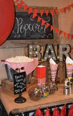 Party Ideas Sweet 16 Popcorn Bar Ideas For 2019 13th Birthday Parties, Birthday Party For Teens, Birthday Cakes For Men, Sleepover Party, Sweet 16 Birthday, 16th Birthday, Birthday Party Ideas For Teens 13th, 50s Theme Parties, Birthday Signs