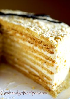 Honey medovick cake