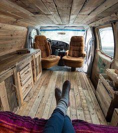 "25.8k Likes, 329 Comments - Vanlife | Travel | Adventure (@project.vanlife) on Instagram: ""Wooden touch by @j_bonde Via @openroadlife"""