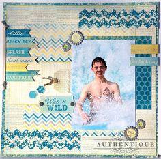 Authentique Paper: Announcing: Summer Seasons...a Petite Collection by Authentique Paper