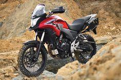 "Honda CB500X Adventure Kit by Rally-Raid Products (""Africa Twin Lite"")"