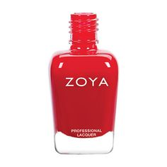 Hannah by Zoya can be best described as a clear, classic red cream with a balanced (neutral) undertone. Color Family - Red Finish - Cream Intensity - 5 ( 1 = Sheer - 5 = Opaque ) Tone - Neutral Zoya N