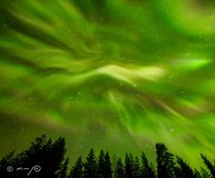Earth is -on January 7, 2017- inside a stream of solar wind flowing from a large hole in the sun's atmosphere. This is causing bright auroras to dance around the Arctic Circle. Last night in Rovaniemi, Finland, photographer M-P Markkanen witnessed this astounding display