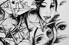 Nanami Cowdroy – Need No Colour! Nanami, Artist Art, Arm Tattoo, Love Art, Sliders, Art Photography, Arms, Black And White, Gallery