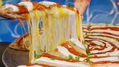 A tasty tower of meat and cheese earns a spot in the Pig Out Hall of Fame. Bulgogi, Meat And Cheese, Travel Channel, Burritos, Food Truck, Season 1, Burgers, Las Vegas, Tasty