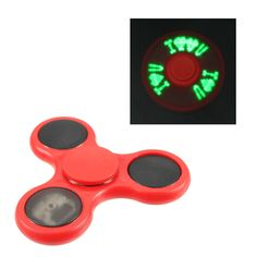ECUBEE LED Fidget Spinner Reduce Stress Gadget 5 Colors